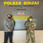 Tingkatkan Sinergitas TNI-Polri, Kapolres Sinjai Terima Kunjungan Personel TNI Yang Selesai Jalankan Misi Perdamaian Dunia