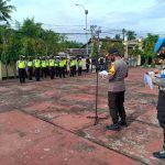 Polres Sinjai Gelar Apel Siaga Persiapan Pam Kedatangan Wakil Gubernur Sulsel dan Aksi Unjuk Rasa