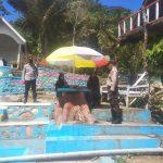 Pantau Obyek Wisata, Kapolsek Sinjai Borong Imbau Pengunjung Patuhi Protokol Kesehatan