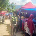 Cegah Covid-19, Babhinkamtibmas Polsek Sinjai Barat Gelar Operasi Yustisi di Pasar Tradisional Imbau Prokes