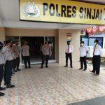 Usai Pimpin Apel Jam Pimpinan, Kapolres Sinjai Berikan Arahan Khusus Kepada Perwira