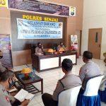 Tim Supervisi Pelaksanaan Zona Integritas Biro Rena Polda Sulsel Kunjungi Polres Sinjai