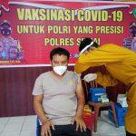 Hari Ke-3 Vaksinasi Covid-19 Personel Polres Sinjai