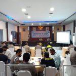 Polres Sinjai Lakukan Penilaian Internal Indeks Tata Kelola Berbasis Online (ITK-O)